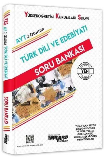 Ankara Yayincilik YKS 2. Oturum AYT Türk Dili ve Edebiyati Soru Bankasi