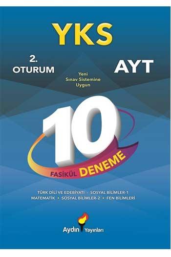 Aydin Yayinlari YKS 2. Oturum AYT 10 Fasikül Deneme