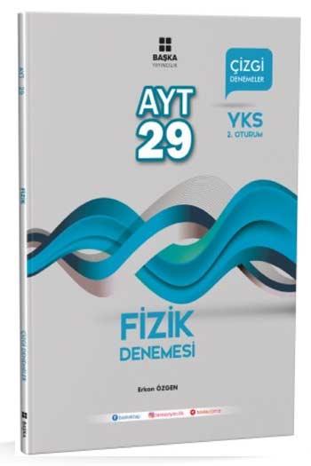 Baska Yayincilik YKS 2. Oturum AYT Fizik 29 Çizgi Denemesi