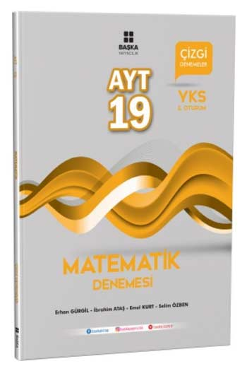 Baska Yayincilik YKS 2. Oturum AYT Matematik 19 Çizgi Denemesi