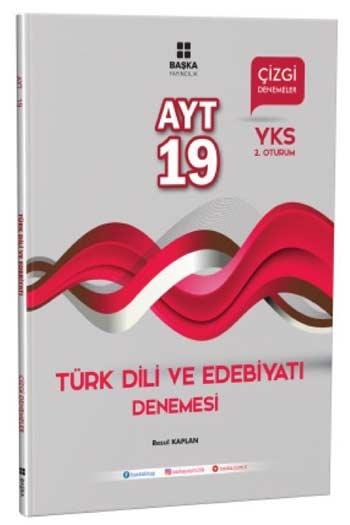 Baska Yayincilik YKS 2. Oturum AYT Türk Dili ve Edebiyati 19 Çizgi Denemesi