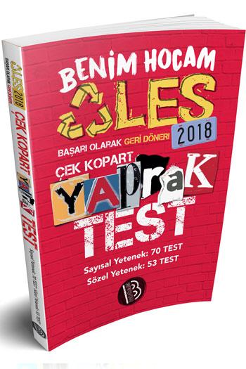 Benim Hocam Yayinlari 2018 ALES Sayisal Sözel Yetenek Çek Kopart Yaprak Test