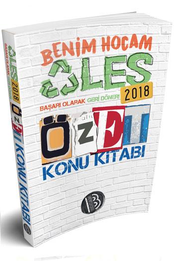 Benim Hocam Yayinlari 2018 ALES Sözel Sayisal Yetenek Özet Konu Kitabi