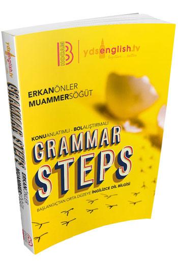 Benim Hocam Yayinlari 2018 Grammar Steps Baslangiçtan Orta Seviyeye Konu Kitabi