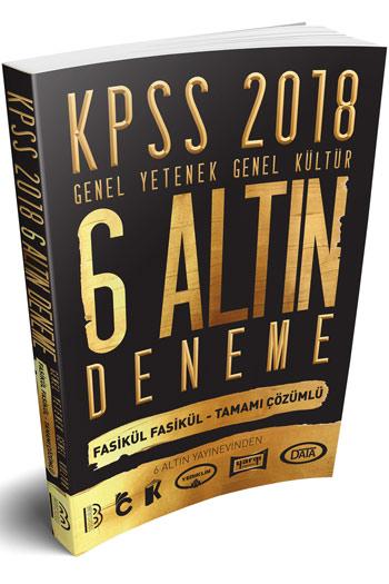 Benim Hocam Yayinlari 2018 KPSS Genel Yetenek Genel Kültür Tamami Çözümlü 6 Altin Deneme