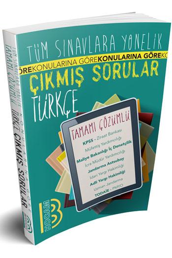 Benim Hocam Yayinlari Tüm Sinavlara Yönelik Tamami Çözümlü Türkçe Çikmis Sorular