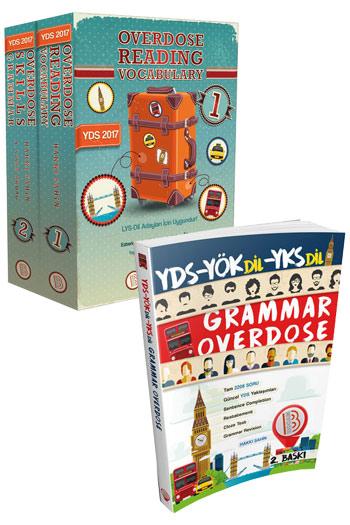 Benim Hocam Yayinlari YDS OVERDOSE Seti Reading Vocabulary Skills  Grammar Soru Bankas