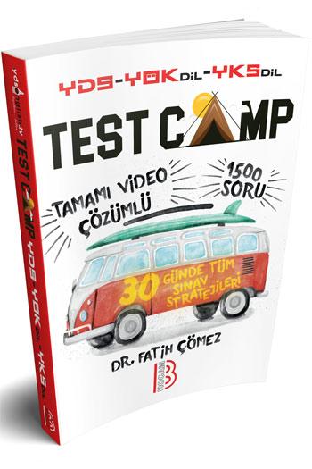 Benim Hocam Yayinlari YDS YÖKDIL YKSDIL TEST CAMP Soru Kitabi