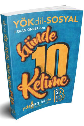Benim Hocam Yayinlari YÖKDIL Sosyal Günde 10 Kelime Cep Kitabi