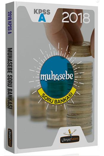 Beyaz Kalem Yayinlari 2018 KPSS A Grubu Muhasebe Soru Bankasi