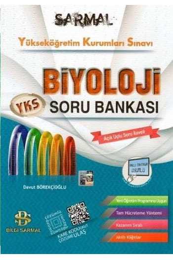 Bilgi Sarmal Yayinlari YKS 2. Oturum Biyoloji Soru Bankasi