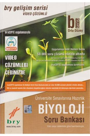 Birey Yayinlari B Serisi Orta Düzey Biyoloji Soru Bankasi