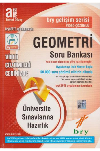 Birey Yayinlari A Serisi Temel Düzey Geometri Soru Bankasi