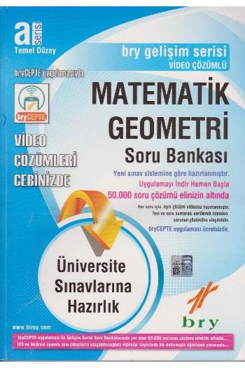 Birey Yayinlari Üniversite Sinavlarina Hazirlik A Serisi Temel Düzey Matematik Geometri Soru Bankasi
