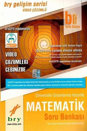 Birey Yayinlari Üniversite Sinavlarina Hazirlik Matematik Soru Bankasi B Serisi Orta Düzey