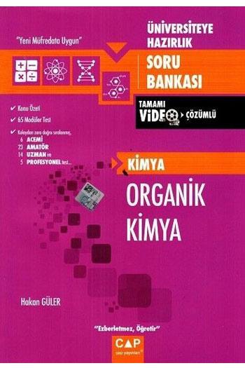 Çap Yayinlari Üniversiteye Hazirlik Organik Kimya Tamami Video Çözümlü Soru Bankasi