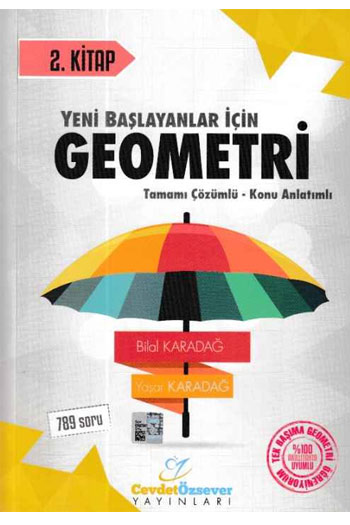 Cevdet Özsever Yayinlari Geometri 2. Kitap Çözümlü Konu Anlatimli