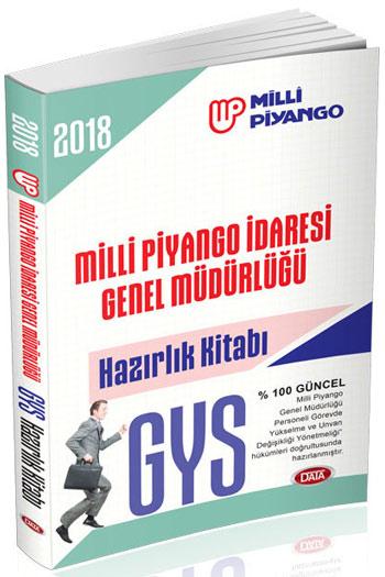 Data Yayinlari 2018 GYS Milli Piyango Idaresi Genel Müdürlügü Hazirlik Kitabi