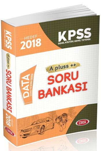 Data Yayinlari 2018 KPSS Genel Yetenek Genel Kültür A Plus Soru Bankasi