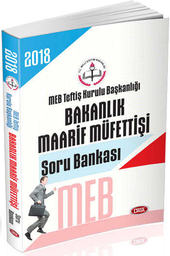 Data Yayinlari 2018 MEB Teftis Kurulu Baskanligi Bakanlik Maarif Müfettisi Soru Bankasi