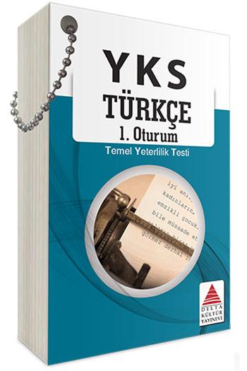 Delta Kültür Yayinlari YKS 1. Oturum TYT Türkçe Kartlari