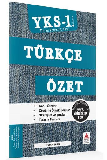 Delta Kültür Yayinlari YKS 1. Oturum TYT Türkçe Özet