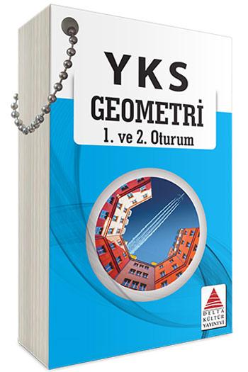 Delta Kültür Yayinlari YKS 1. ve 2. Oturum Geometri Kartlari