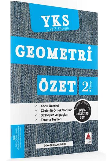 Delta Kültür Yayinlari YKS 1. ve 2. Oturum TYT Geometri Özet 2. Kitap