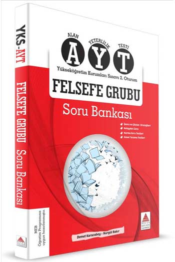 Delta Kültür Yayinlari YKS 2. Oturum AYT Felsefe Grubu Soru Bankasi