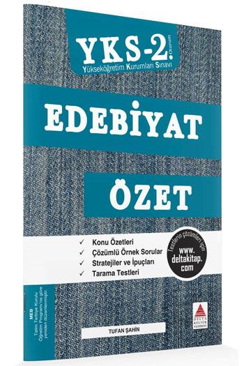 Delta Kültür Yayinlari YKS 2. Oturum Edebiyat Özet