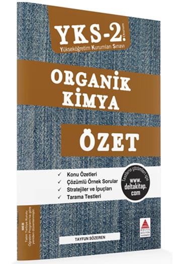 Delta Kültür Yayinlari YKS 2. Oturum Organik Kimya Özet