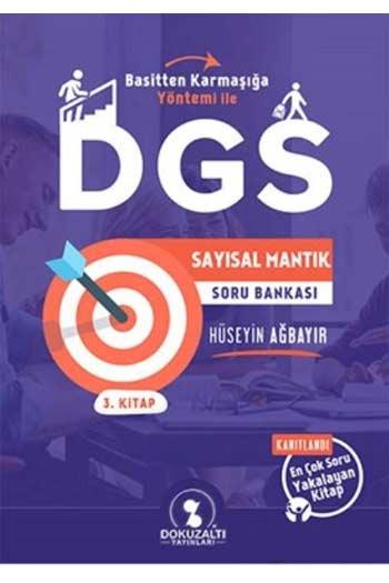 DokuzAlti Yayinlari DGS Sayisal Mantik Soru Bankasi 3. Kitap