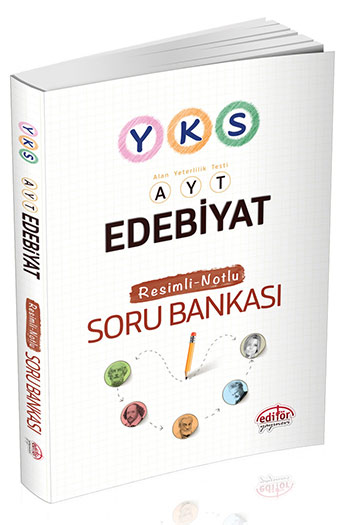 Editör Yayinevi YKS AYT Edebiyat Resimli-Notlu Soru Bankasi