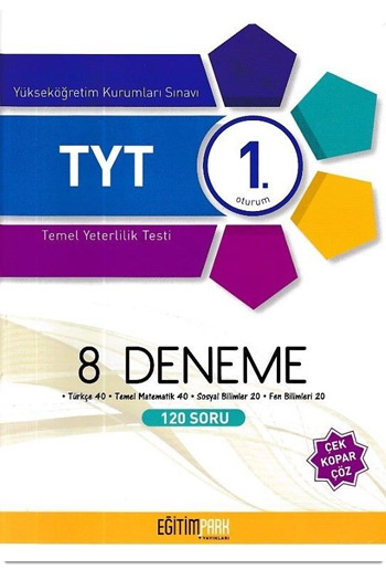 Egitim Park Yayinlari YKS 1. Oturum TYT 8 Deneme
