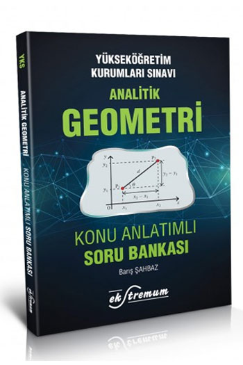 Ekstremum Yayinlari YKS Analitik Geometri Konu Anlatimli Soru Bankasi