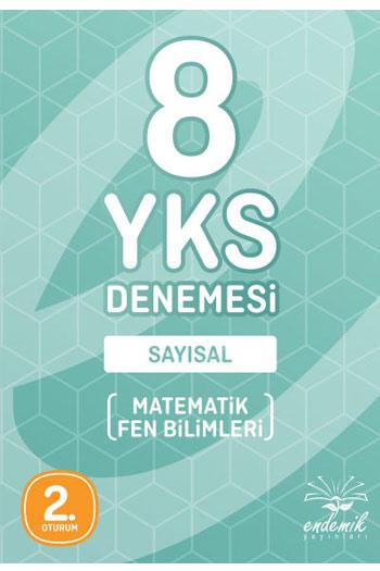 Endemik Yayinlari YKS 2. Oturum Sayisal 8 Deneme
