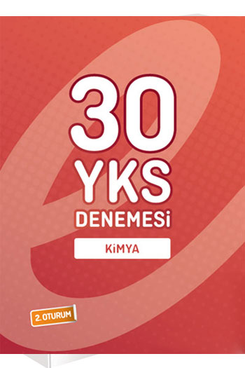 Endemik Yayinlari YKS 2.Oturum Kimya 30 Deneme