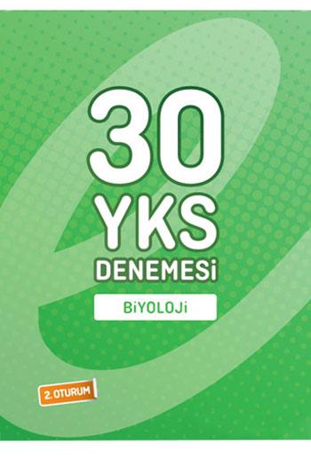 Endemik Yayinlari YKS 2.Oturum Biyoloji 30 Deneme