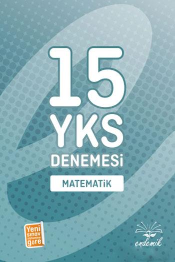 Endemik Yayinlari YKS Matematik 15 Deneme