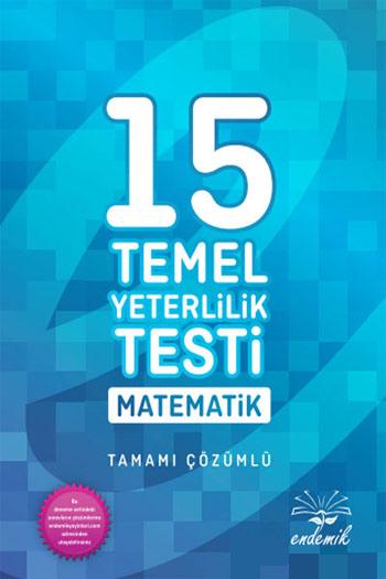 Endemik Yayinlari YKS Temel Yeterlilik Testi Matematik Tamami Çözümlü 15 Deneme