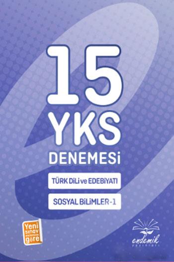 Endemik Yayinlari YKS Türk Dili ve Edebiyati Sosyal Bilimler 15 Deneme