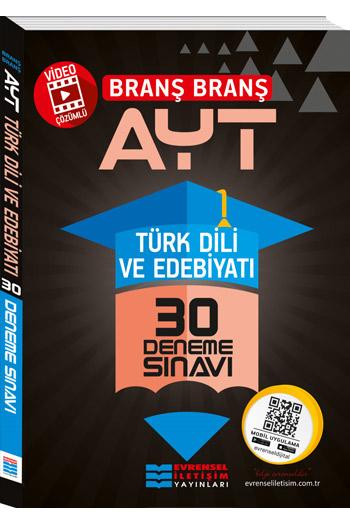 Evrensel Iletisim Yayinlari AYT Türk Dili ve Edebiyati Video Çözümlü 30 Deneme Sinavi
