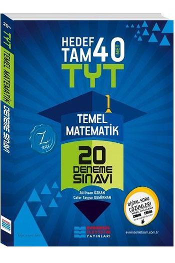 Evrensel Iletisim Yayinlari YKS 1. Oturum TYT Temel Matematik 20 Deneme Sinavi