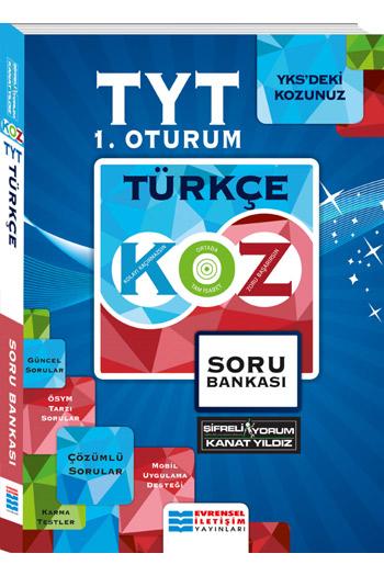 Evrensel Iletisim Yayinlari YKS 1. Oturum TYT Türkçe Koz Serisi Soru Bankasi