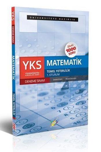 FDD Yayinlari YKS 1. Oturum TYT Matematik 25x40 Deneme Sinavi
