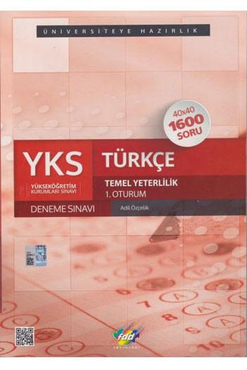 FDD Yayinlari YKS 1. Oturum TYT Türkçe 40x40 Deneme Sinavi
