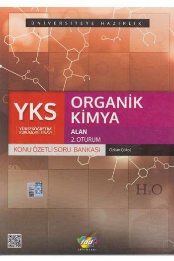 FDD Yayinlari YKS 2. Oturum Alan Organik Kimya Konu Özetli Soru Bankasi