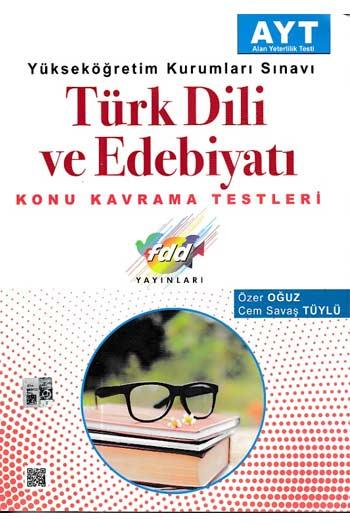 FDD Yayinlari YKS AYT Türk Dili ve Edebiyati Konu Kavrama Testleri