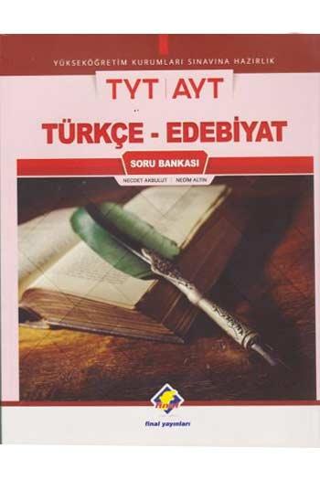 Final Yayinlari YKS TYT AYT Türkçe-Edebiyat Soru Bankasi