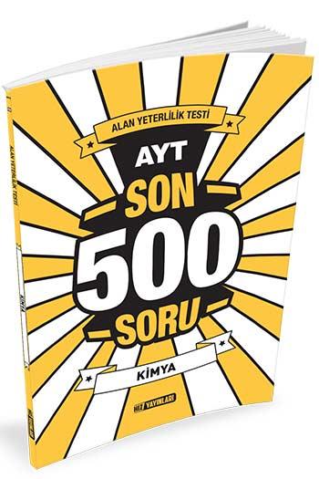 Hiz Yayinlari AYT Kimya Son 500 Soru